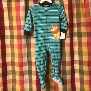 NWT 18 month Carter's fleece pajamas